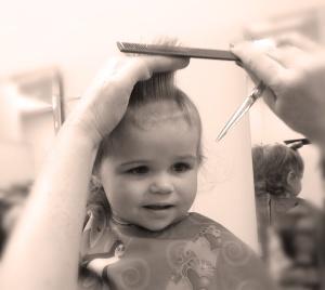 Savvy 1st haircut